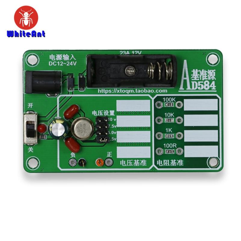 AD584JH 4-Channel 2.5V 7.5V 5V 10V High Precision Voltage Reference Module For Calibration of Multimeters