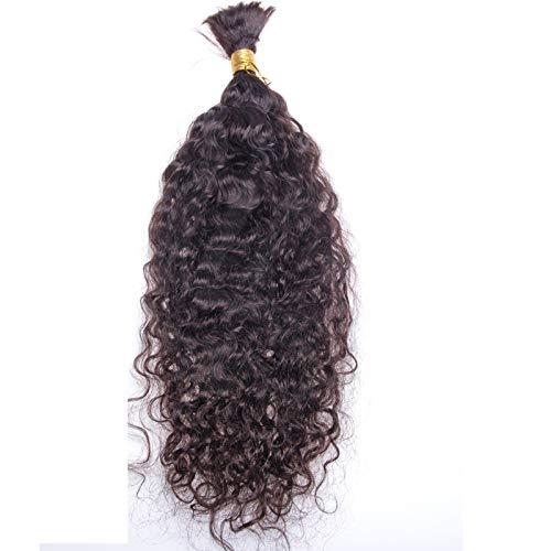 bulk buys bi635 48 butterfly ruffle accent hair twister large Water Wave Human Hair Bulk For Braiding Brazilian Hair Weave Bundles Bulk Natural Color Remy Human Hair Extension Bulk No Wefts