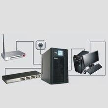 10KVA/8KW Online UPS 3 Phase In zu 1 Phase Heraus Turm 192VDC Externe Batterie Reiner Sinus Welle Online unterbrechungsfreie Liefern