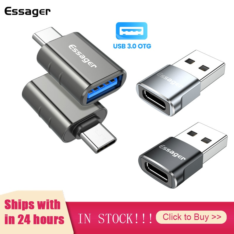 3Types USB 3.0 2.0 Type C OTG Adapter To USB C Male Converter For Samsung Xiaomi USB-C Female Connec