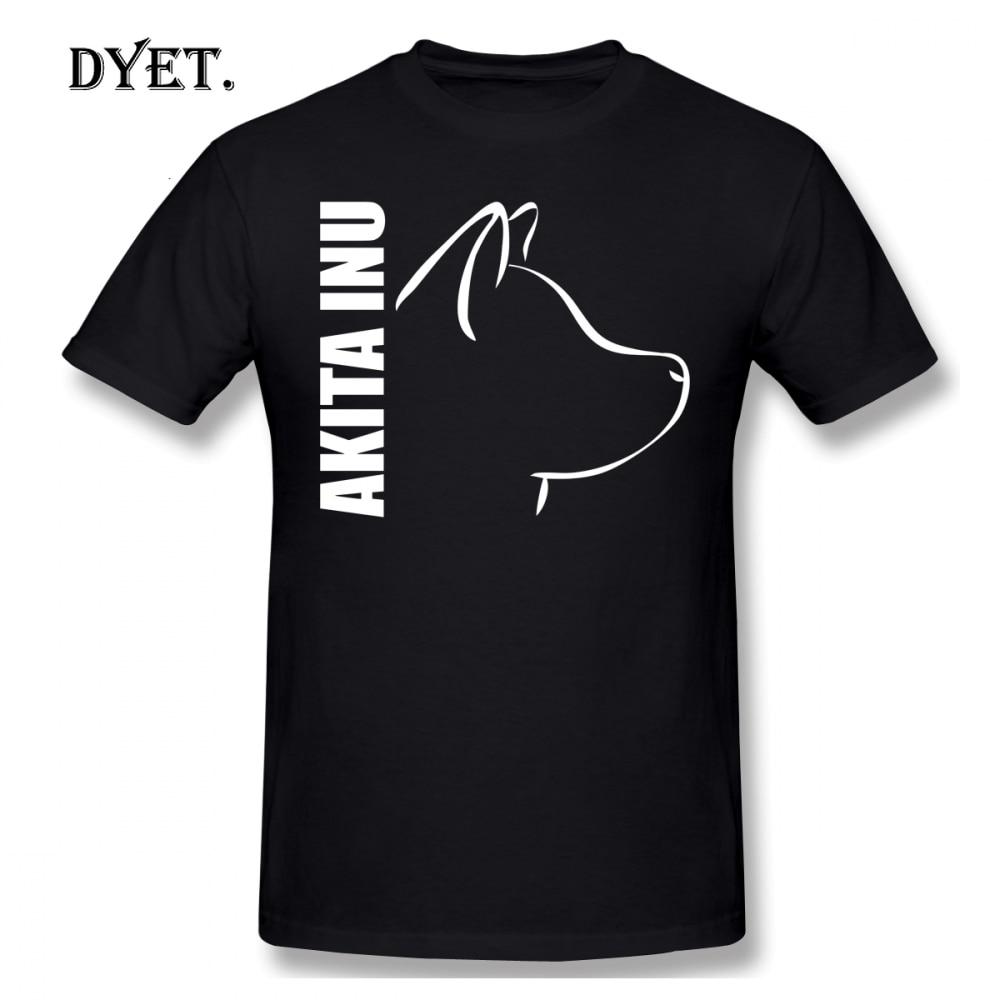 Camiseta de Akita Inu para hombre, camisa de manga corta 100 de...