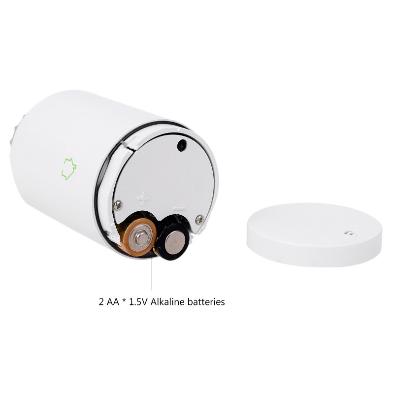 TUYA Zigbee3.0 Wifi TRV Thermostat Thermostatic Radiator Actuator Voice Control
