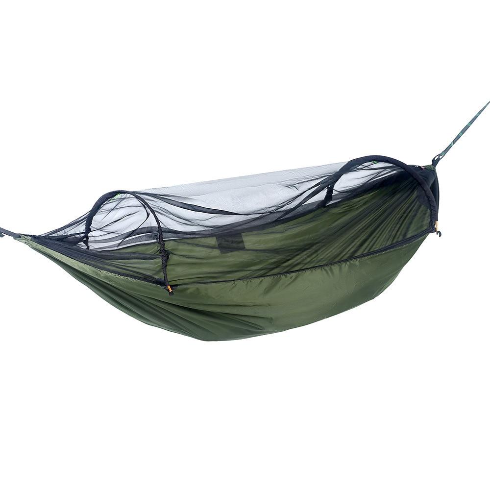 Amazon cross-border push-pull anti-rollover mosquito net hammock outdoor double anti-mosquito indoor swing tent new