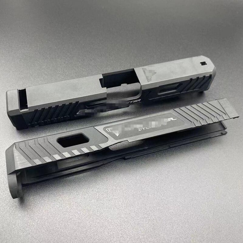 Kublai-Marco deslizante de Metal y aluminio para caza, accesorio de juguete, versión...