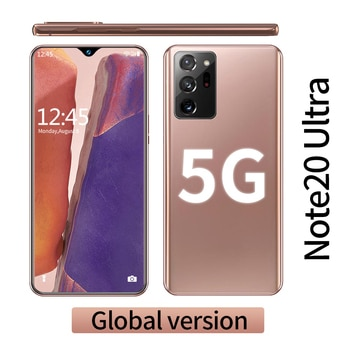 Galay Note20 Ultra 5G Smartphone 12GB RAM + 512GB ROM 6.6 inch Screen 16+32MP with Support Face/Fingerprint Recognition Unlocked