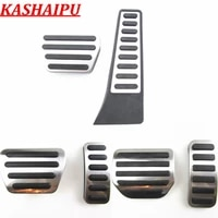 hot car footrest gas brake pedal cover kit for land rover range rover sport evoque discovery l405 l494 l462 2006 2021