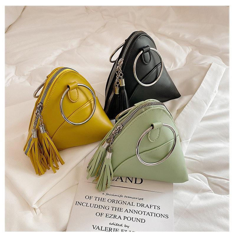 tassel floral braid tote bag New Fashion Women Bags 2021 Portable Versatile Female Handbag Tassel Small Zongzi Bag Girls Tote Mobile Phone Bag