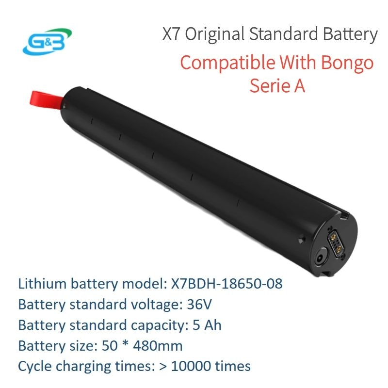 Batería Original para patinete Eléctrico, batería de litio extraíble 18650 de 36V...