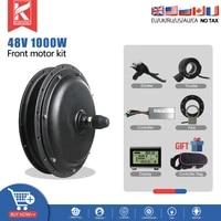 ebike conversion kit 48v 1000w kt led front hub motor wheel 20 29inch 700c for ebike brushless hub motor conversion kit