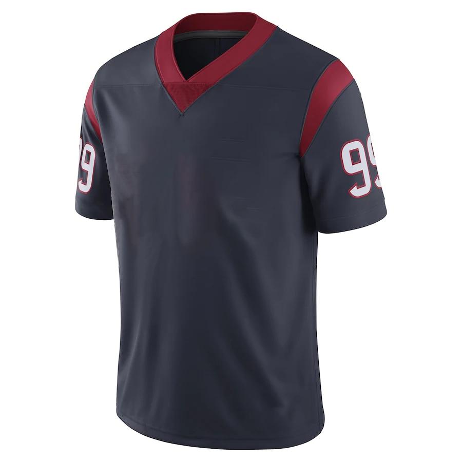 New Men's 2021 American Football Houston Sport fans Wear Jersey Phillip Lindsay Deshaun Watson J.J. Watt Deandre Hopkins Jerseys
