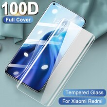 Full Cover Tempered Glass For Xiaomi Redmi Note 10 10S 9S Pro 9A 9C 9 8T 8 7 6 For Mi 10T 9T 9SE Lit