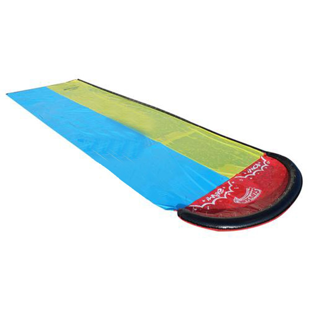 Double Single Inflatable Water Slide Mat Children Water Slide Garden Double Water Slide Summer Toy For Outdoors Surfboar Toy