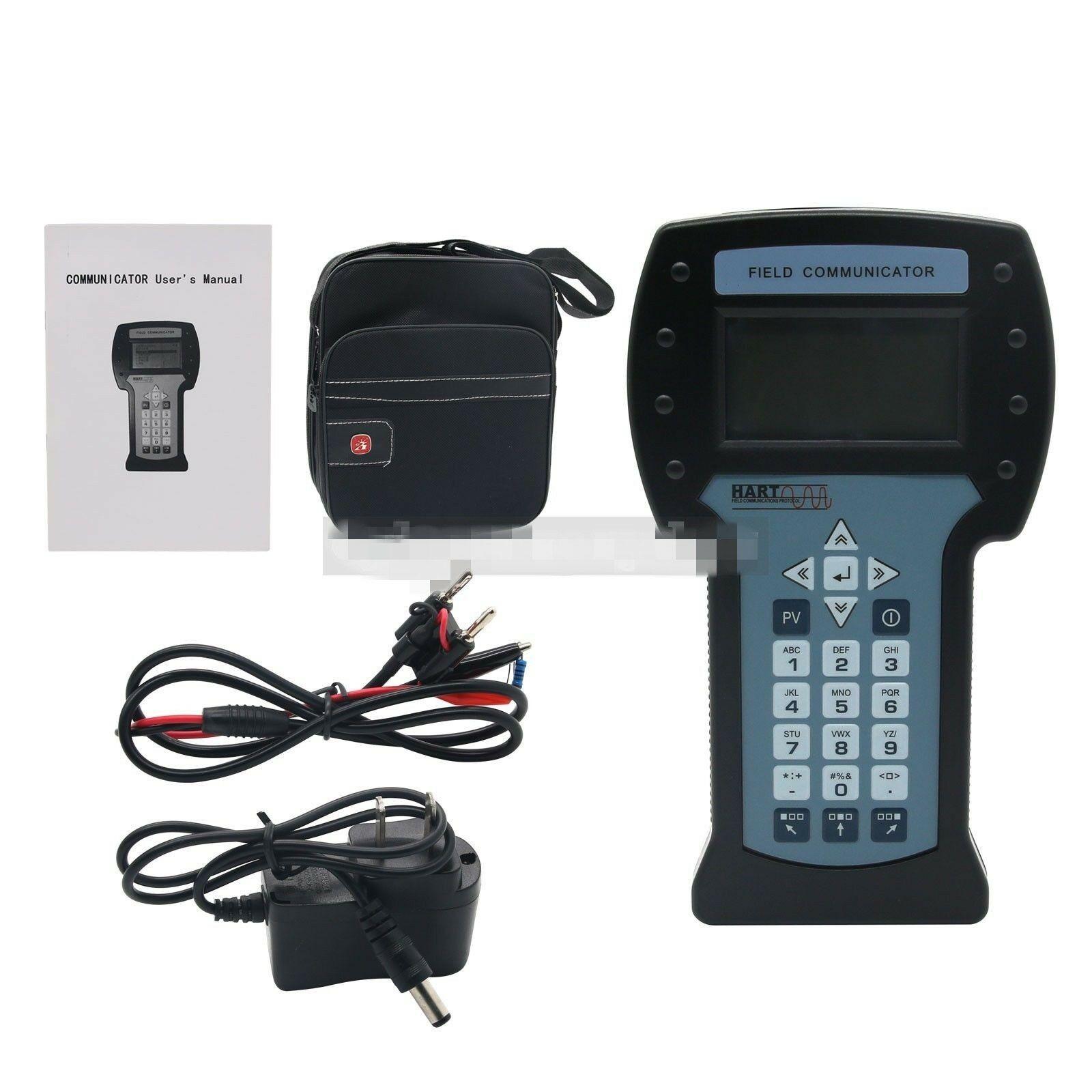 Hart475 hart field comunicador para a calibração do transmissor de temperatura de pressão handheld hart field + manual