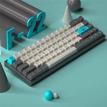 MAXKEY-teclas F22 SA ABS, doble disparo, para teclado mecánico MX personalizado