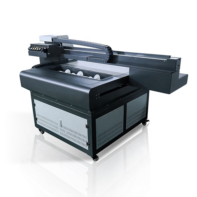 A1 large format 3d effect uv flatbed printer 6090 sign uv led printing machine on any material printing