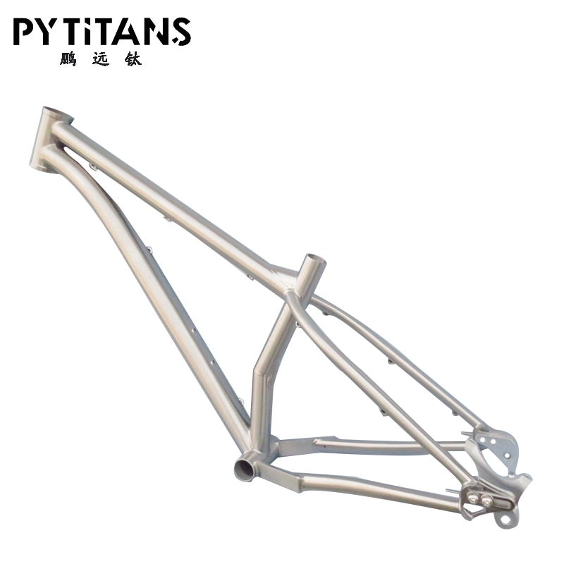 Best Quality !!! PYTITANS Titanium Fat bike frame Premium-Quality Handmade Middle Child S Size Similar RDS Customized Bike Frame