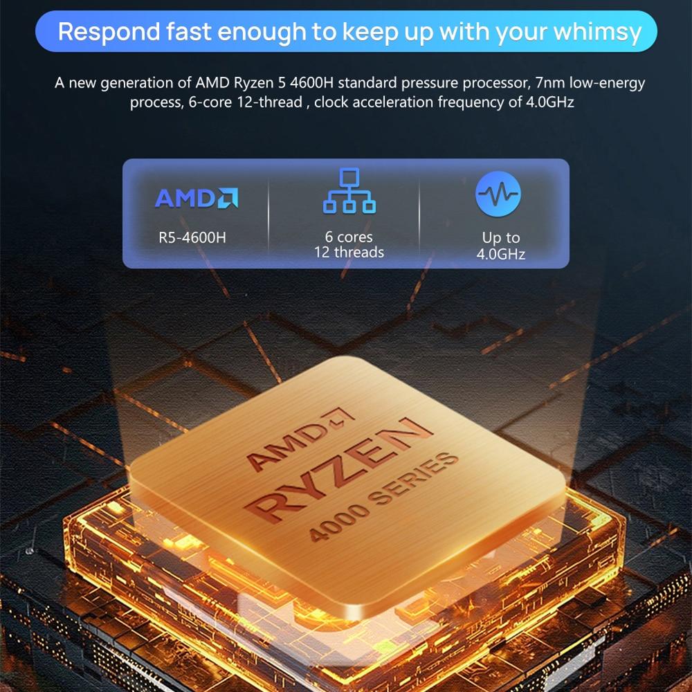 KUU G3 Laptop AMD R7 4800H 8 Cores 16 Threads16GB DDR4 RAM 512GB M.2 SSD R5 4600H Optional High-performance Work Laptop AMD Yes