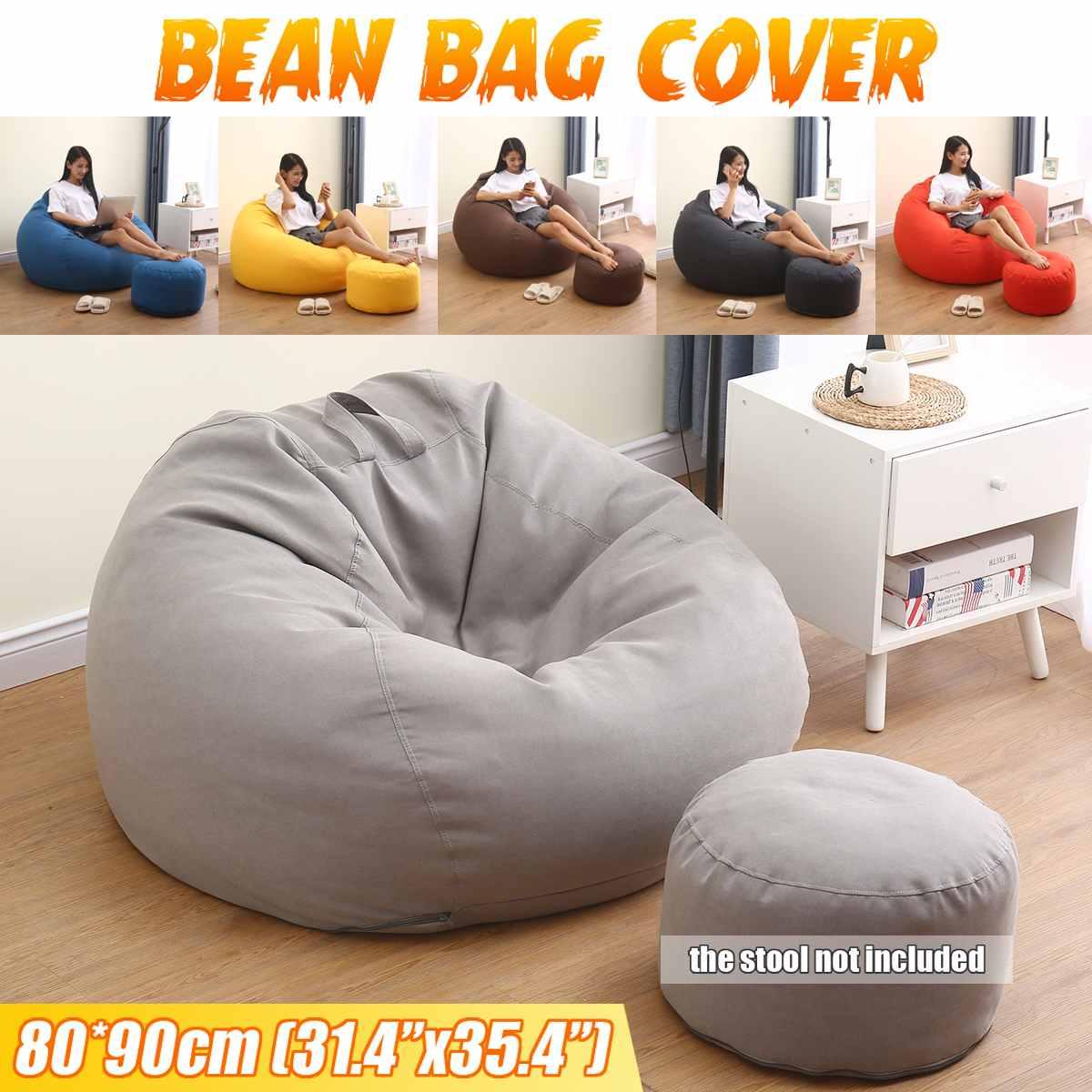 Funda para sofá y silla sin relleno para niños, puf para acampar,...