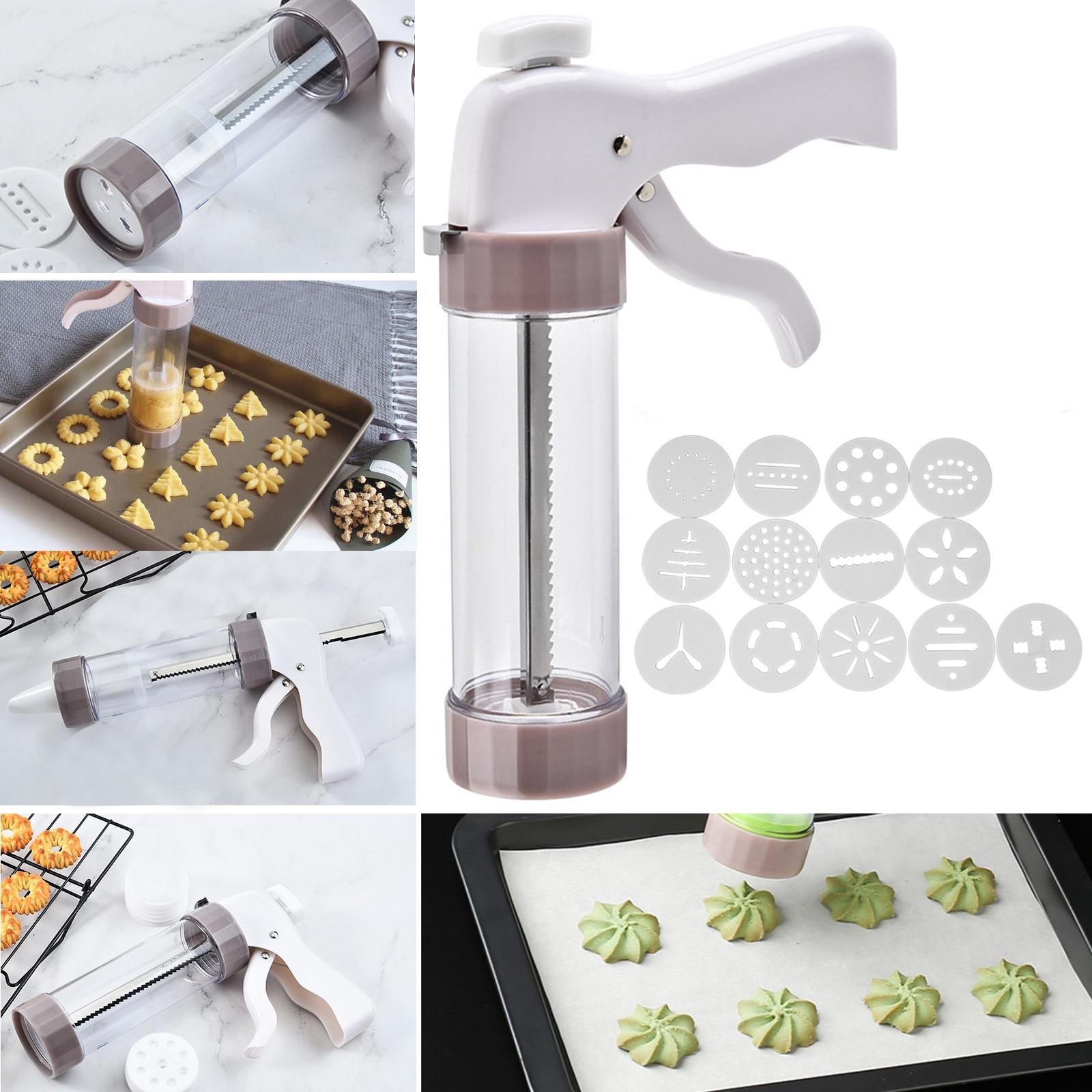 Máquina moldeadora de galletas, cortador de pasteles, juego de decoración de postres,...
