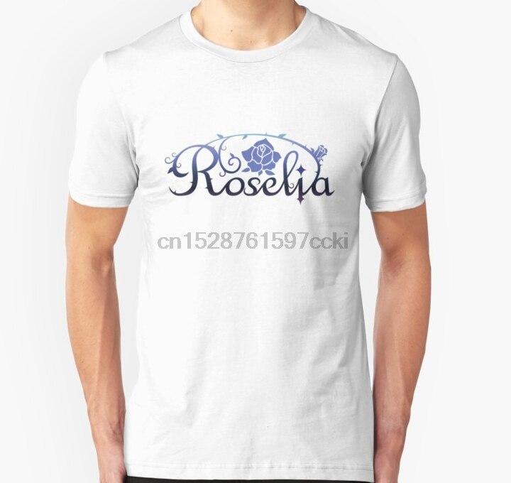 Camiseta Unisex de sueño de estallido Roselia para hombre (1) camiseta estampada