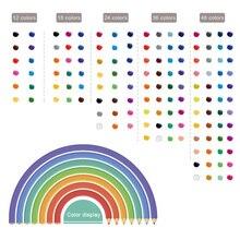 Enfants peinture crayons de couleur ensemble multicolore écologique crayon de couleur UY8