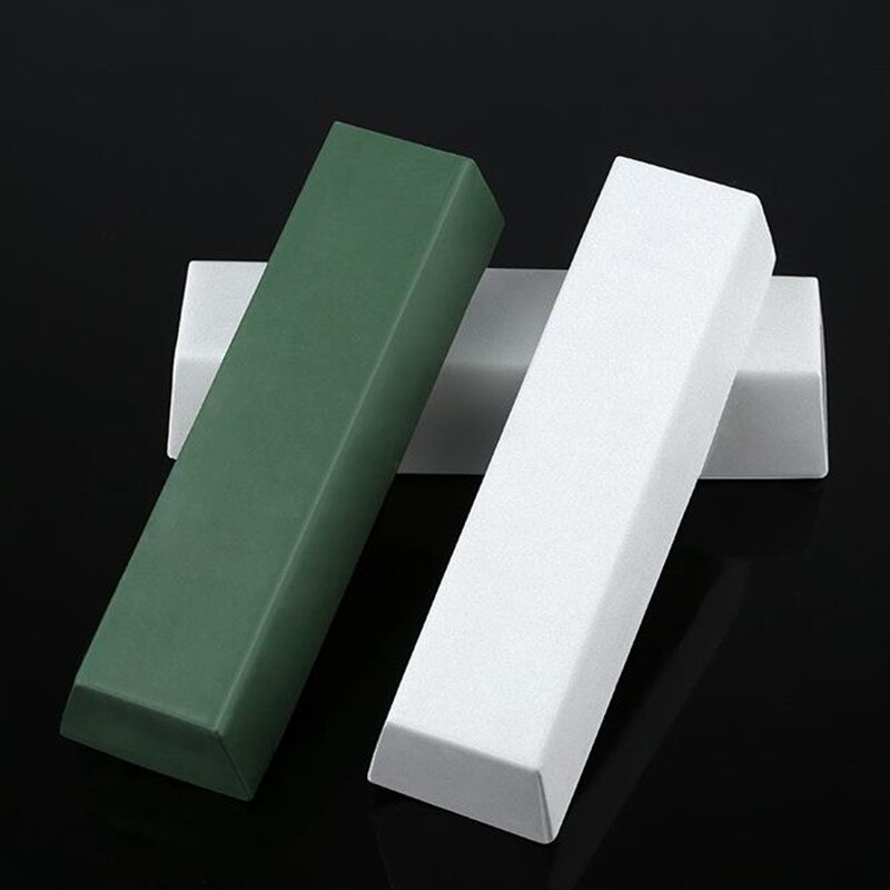 2pcs Alumina Abrasive Polishing Paste Buffing Compound Metal Knife Blade Grinding Use