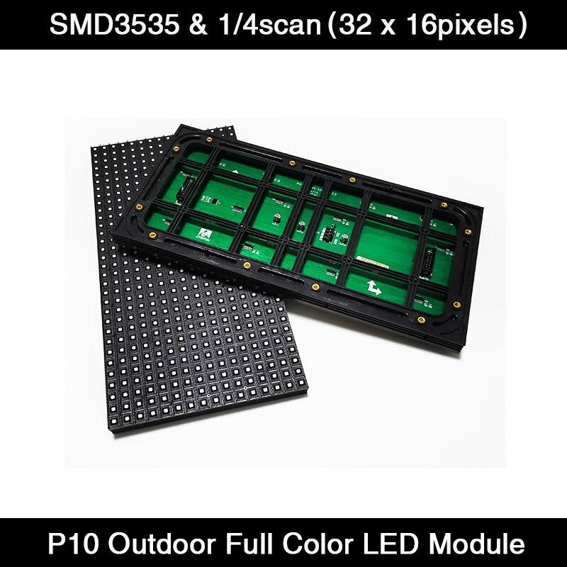 Painel de Cor P10 ao ar 3 em 1 Livre Módulo Venda Quente Display Cheia Rgb Smd Outdoor Led 320x160mm