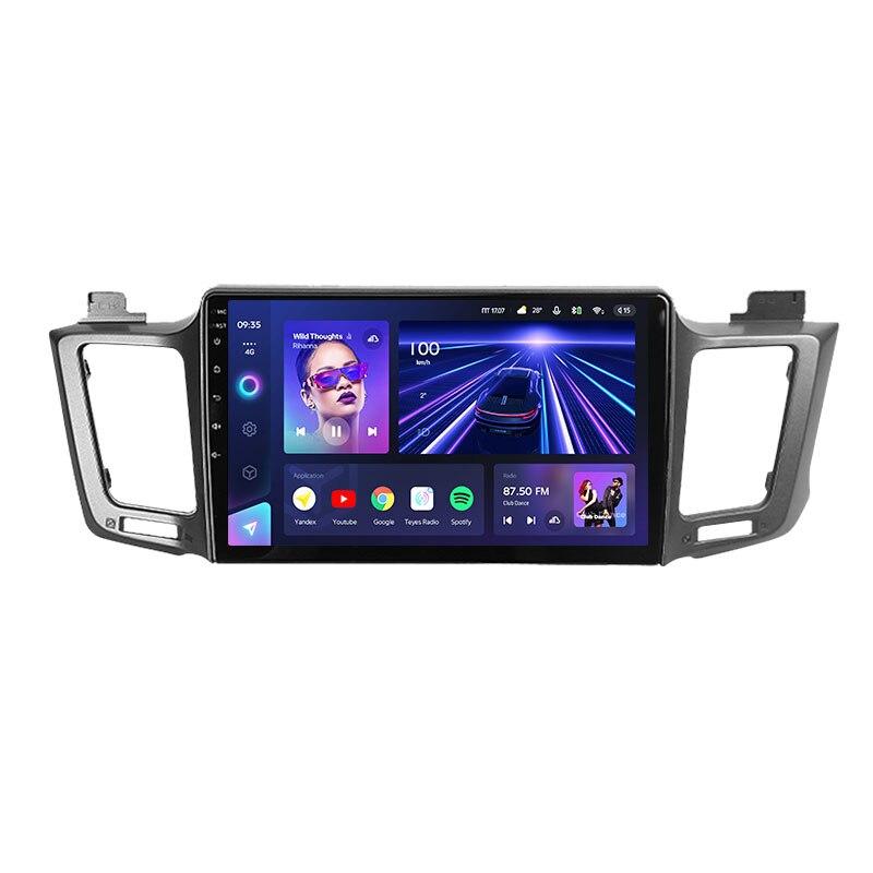 TEYES CC3 لتويوتا RAV4 4 XA40 5 XA50 2012-2018 راديو السيارة الوسائط المتعددة مشغل فيديو الملاحة ستيريو لتحديد المواقع لا 2din 2 din dvd
