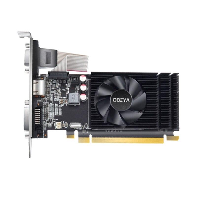 اوبيا R5 220 2G 64bit بطاقة جرافيكس AMD-رقاقة الكمبيوتر المكتبي الكل في واحد PCIE 2.0 مستقل مع HDMI متوافق DVI VGA