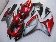 GSXR 600 carpette Injection métal rouge noir   Pour 750-2006 Suzuki 4 2007 600 750
