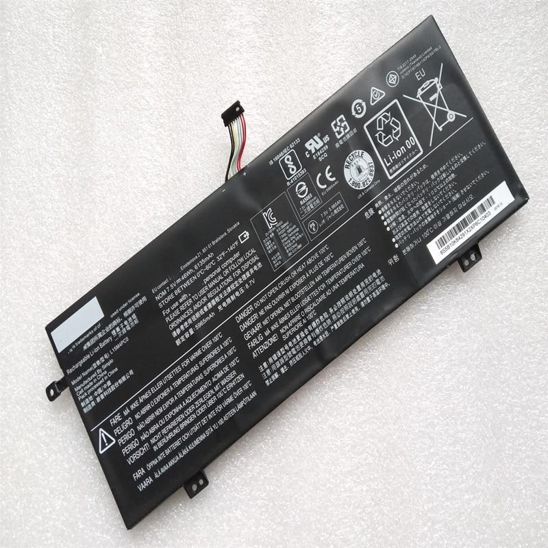 Genuíno l15m4pc0 l15l4pc0 l15s4pc0 bateria do portátil para lenovo ideapad 710s-13isk xiao xin ar 13 pro K22-80 v730 l15m6pc0