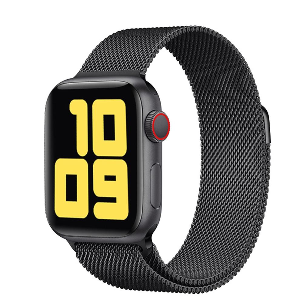 Reloj inteligente rgtofone 1,4 mando de pantalla HD Código 1 1 pulsera impermeable con Bluetooth 4,0 para mujeres y hombres Apple Watch