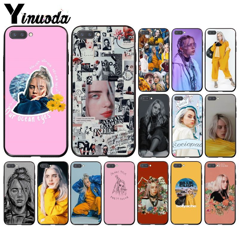 Чехол для телефона Yinuoda Music Singer Star Billie Eilish для Huawei Honor 8X 9 10 20 Lite 7A 5A 7C 10i 9X pro Play 8C