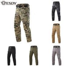 ESDY hommes pantalons de randonnée sports de plein air imperméable tactique militaire pantalon trekking Trek montagne chasse pêche pantalon hommes S-5XL