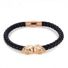 New Fashion Black Rope Bracelets for Women Charms Women's Bracelet Engagement Gifts BTS021