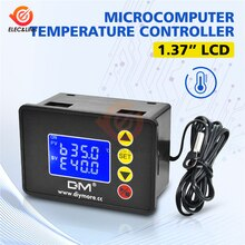10A 12V 24V 220V AC Digital Temperatur Controller Thermostat für inkubator heizung kühlung temperaturregler Ersetzen W3001 W3230