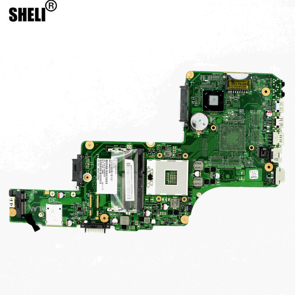 اللوحة الأم V000275230 - UMA HM70 6050A2491301 لـ TOSHIBA SATELLITE L855