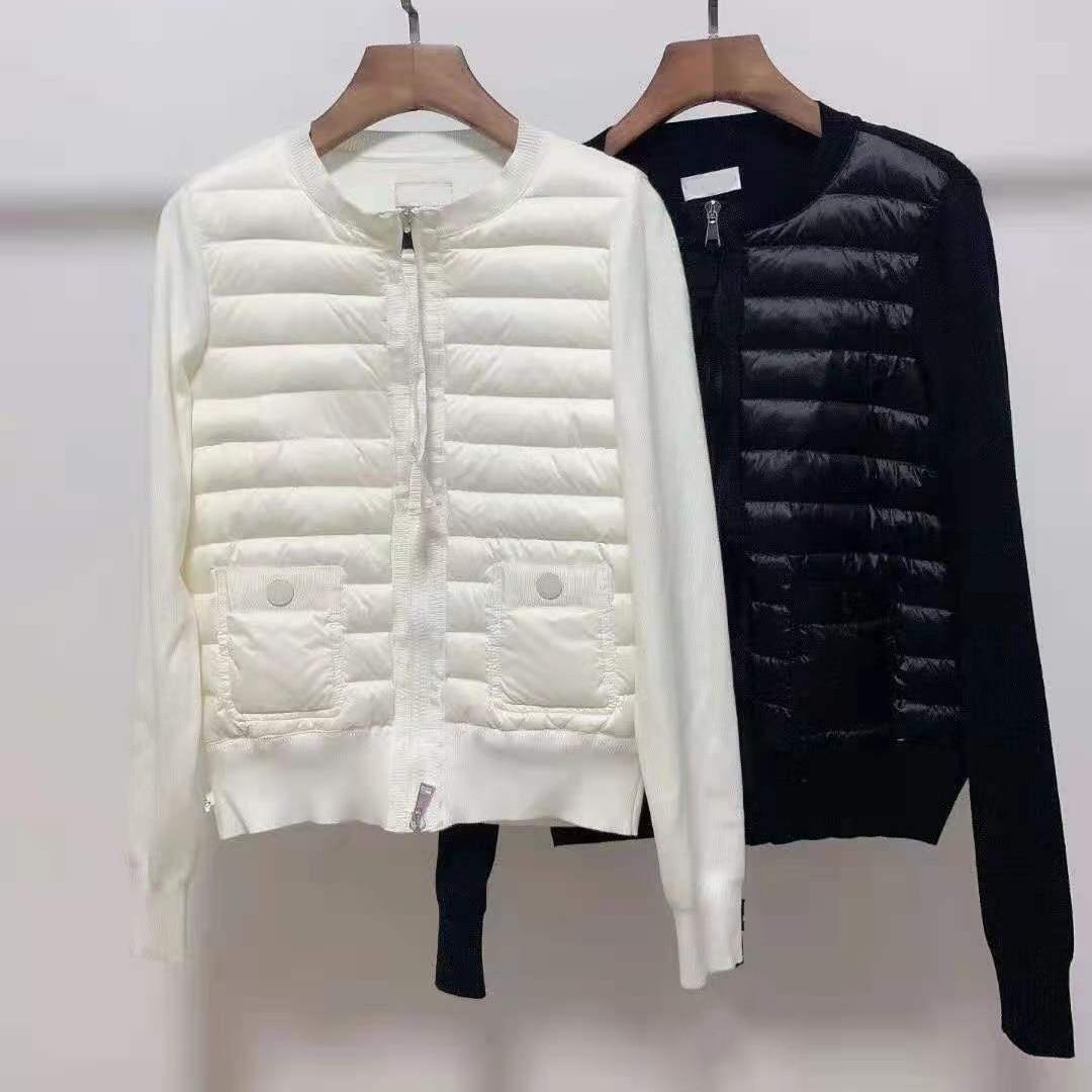 Новинка Осень-зима 2021, женский пуховик, утепленный Теплый мужской и женский свитер, высококачественное пуховое модное Трендовое пальто
