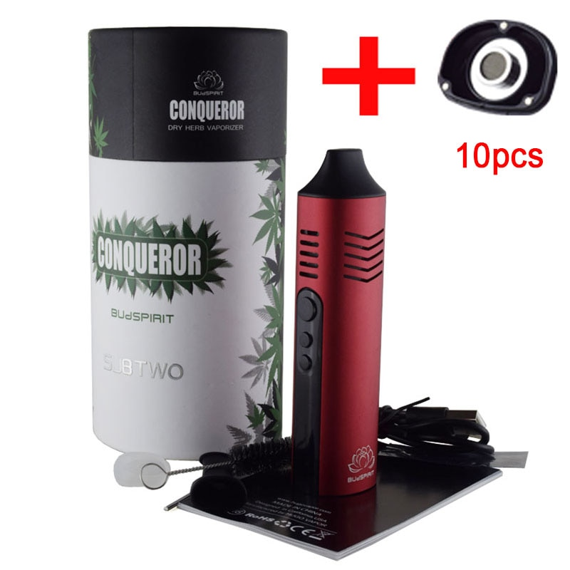 Conqueror Dry Herb Vaporizer Pathfinder V2 Kit electronic cigarette 2200mah with OLED screen vape kit  5G Dry Herb iant Mini Wax