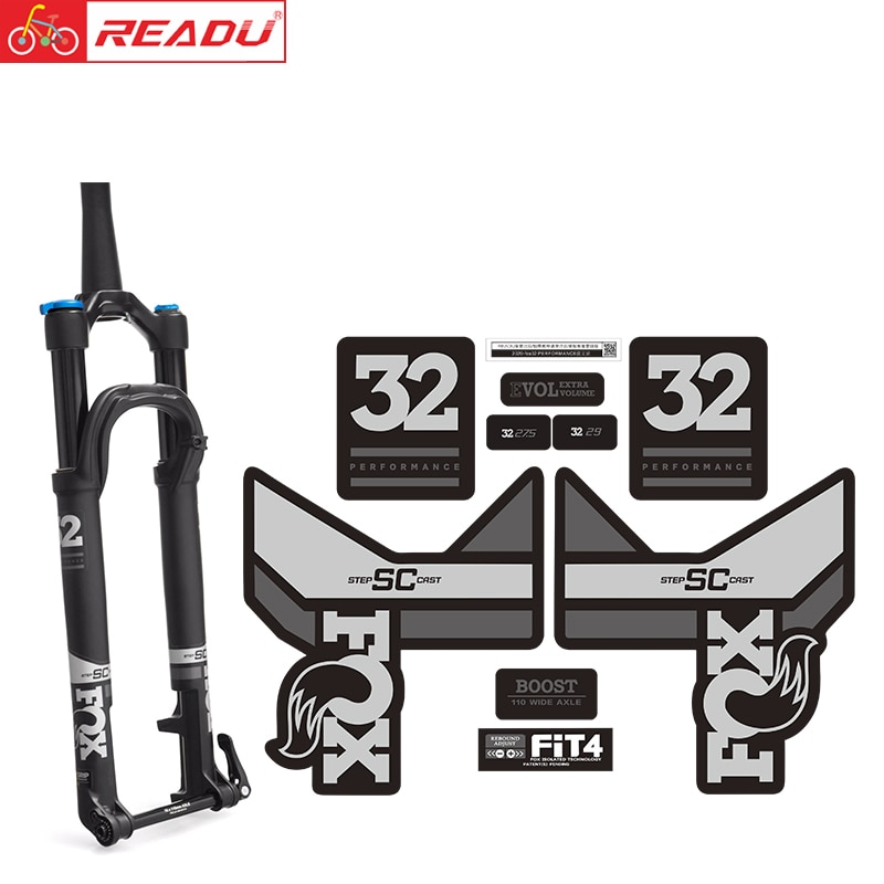 Велосипедная наклейка 2020-fox32, передняя вилка, Аксессуары для велосипеда, наклейки на вилке, fox float 32