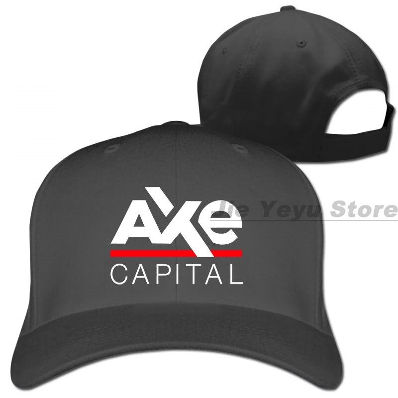 Gorra de béisbol estampada Axe Capital inspirada en miles de millones gorras de camionero para hombre y mujer gorra ajustable de moda