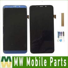 Pantalla LCD Original para Bluboo S8 plus con Sensor de pantalla táctil, montaje de digitalizador de vidrio, negro, azul con cinta de herramientas