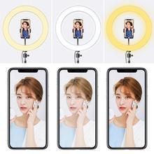 128 Led 3 Modes Foto Dimbare Usb Led Selfie Ring Licht 3500-5500K Make Fotostudio Lamp Youtube live Video Statief Aro De Lu