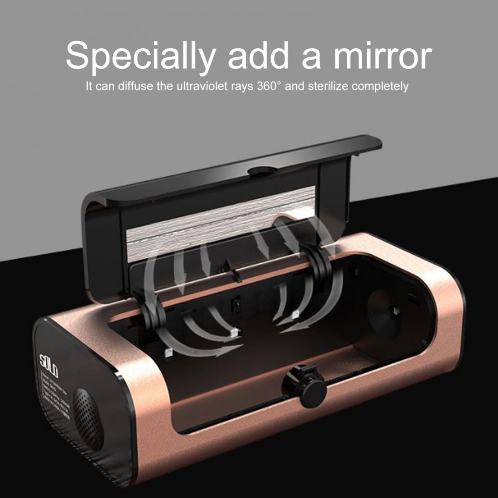 Safe  Reliable Professional Musical Instrument Sanitizer Box ABS Sterilizer Lightweight   for Starter enlarge