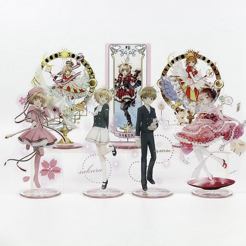 Card Captor Sakura Toy Height 21cm Anime Action Figure Toy Acrylic Decorative Ornaments Gift