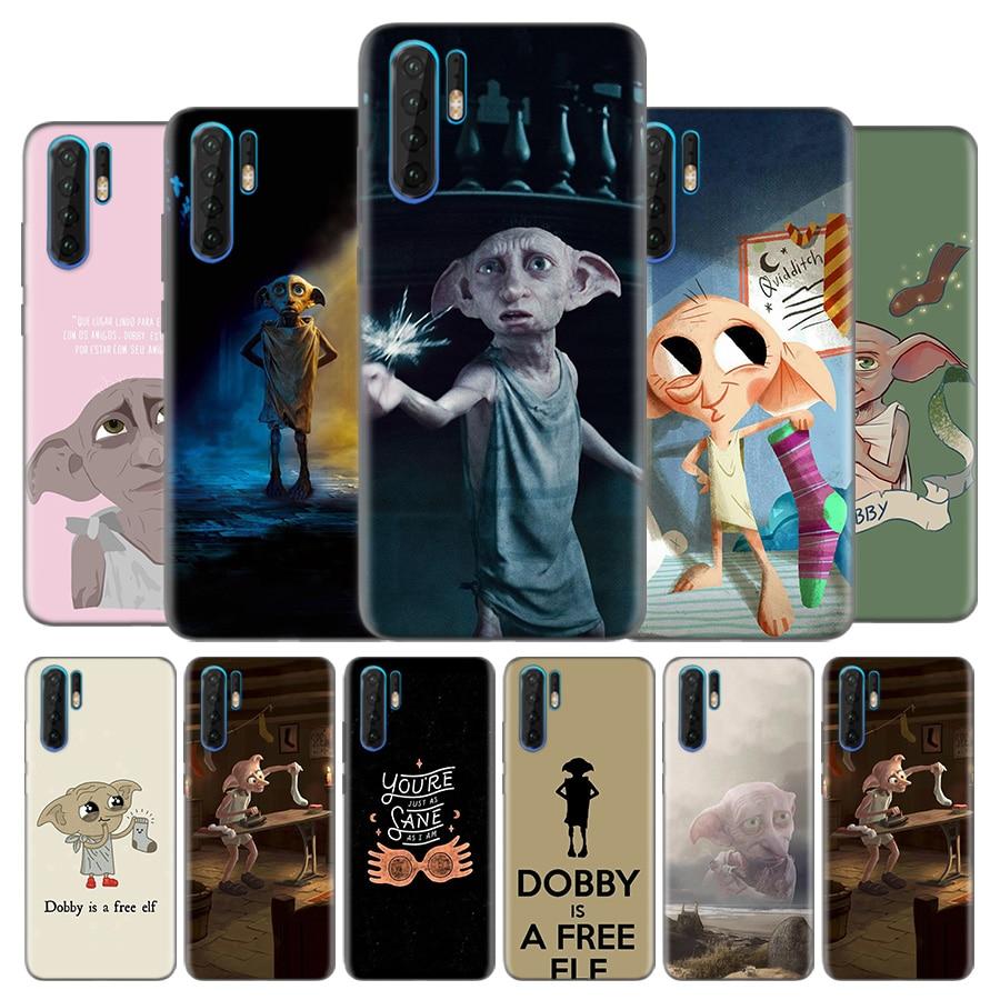 Silicone Case for Huawei P40 P30 P20 Lite P40 Pro Mate 10 20 Lite 20 Pro P Smart Z Plus 2019 TPU Cover Movie Dobby Classic Print