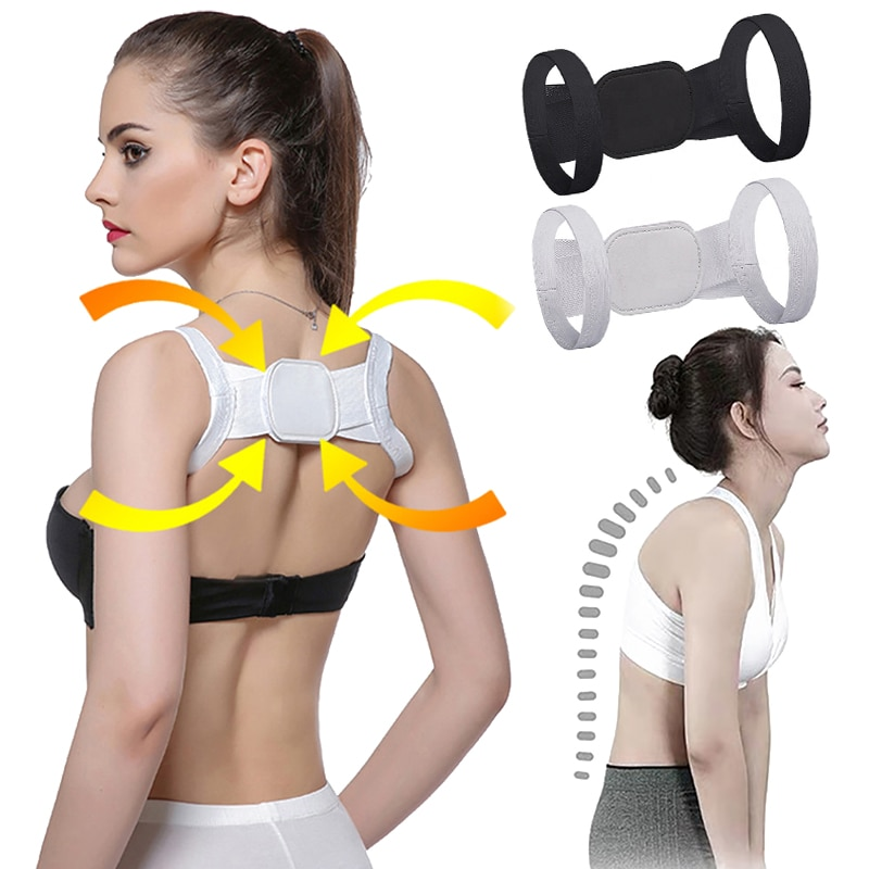 Invisible Posture Corrector Bra Back Belt Device Anti Support Belt Adult Shapewear Chest Belt Back S