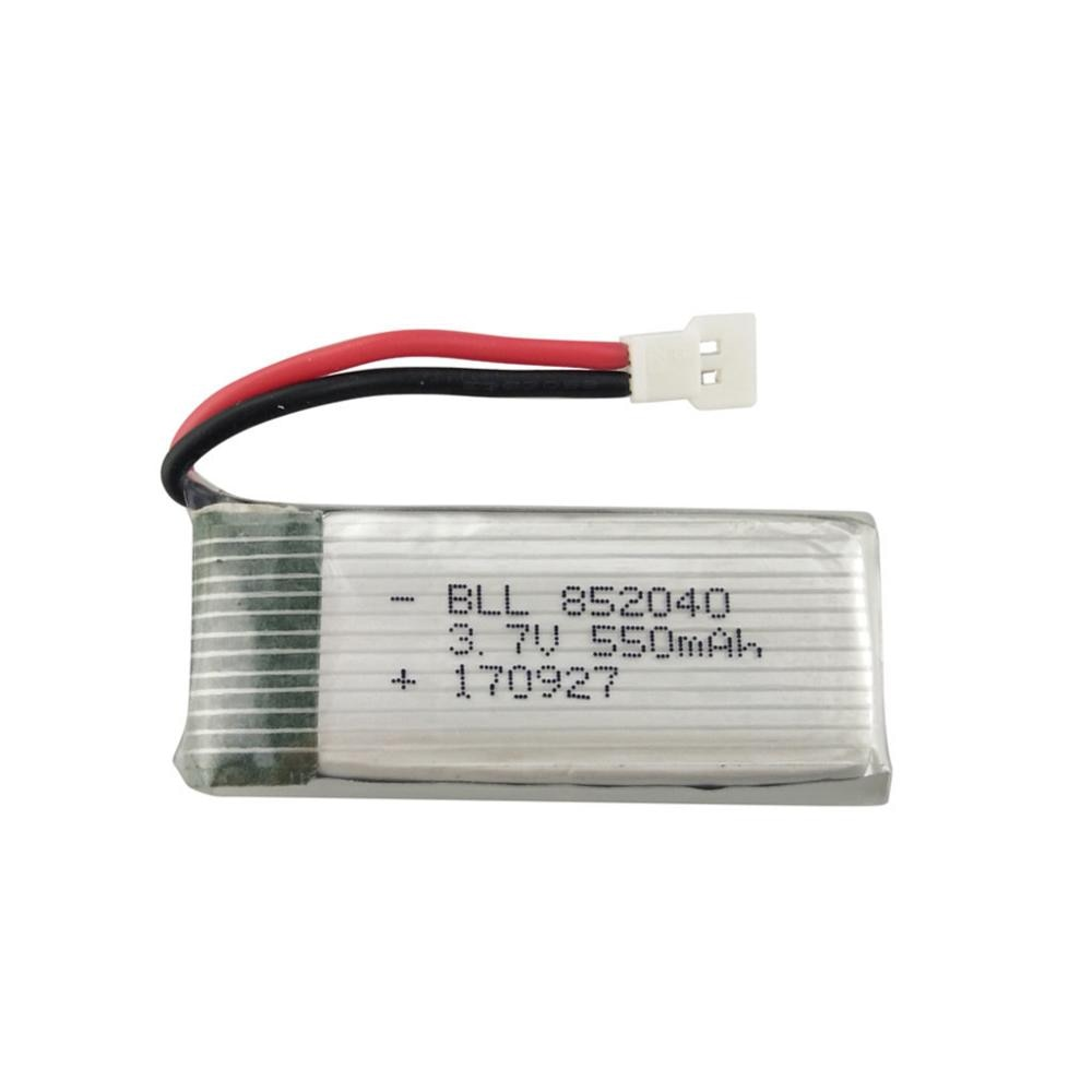 Folding RC Quadcopter Spare Parts 3.7V 550mAh Lithium Battery for JXD523 523W Drone