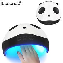 36W Pro Nail Panda Nail Dryer Compact Electric UV Lamp Polish Manicure 60s/90s/120s Smart Timing Nail Art Tool
