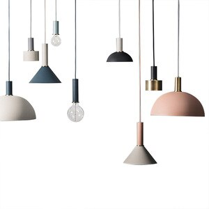 Nordic Loft Simple Pendant Lights LED Modern Creative Hanging Lamp DIY Bar Bedroom Living Room Kitchen Restaurant Lighting